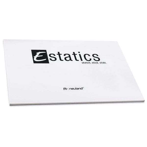Estatics Pad A5, Wit