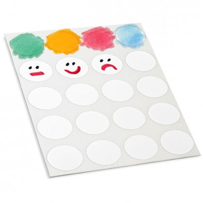 Markering Dots - wit